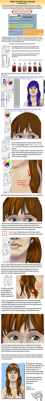 Paint Tool SAI Hair Tutorial by Neillustrations