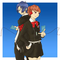 P3P Main Characters by Anneeys