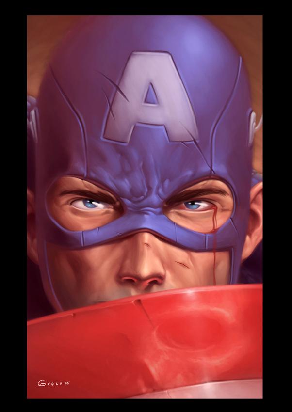 Capitan America by Diego-Greco