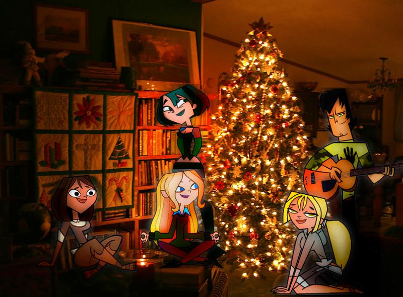Total Drama Christmas by Barucgle123
