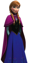 Anna Frozen Png by Barucgle123