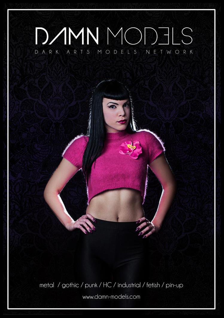 Damn Models Poster by VillyVilly