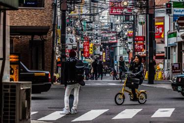 Osaka Streets by VillyVilly