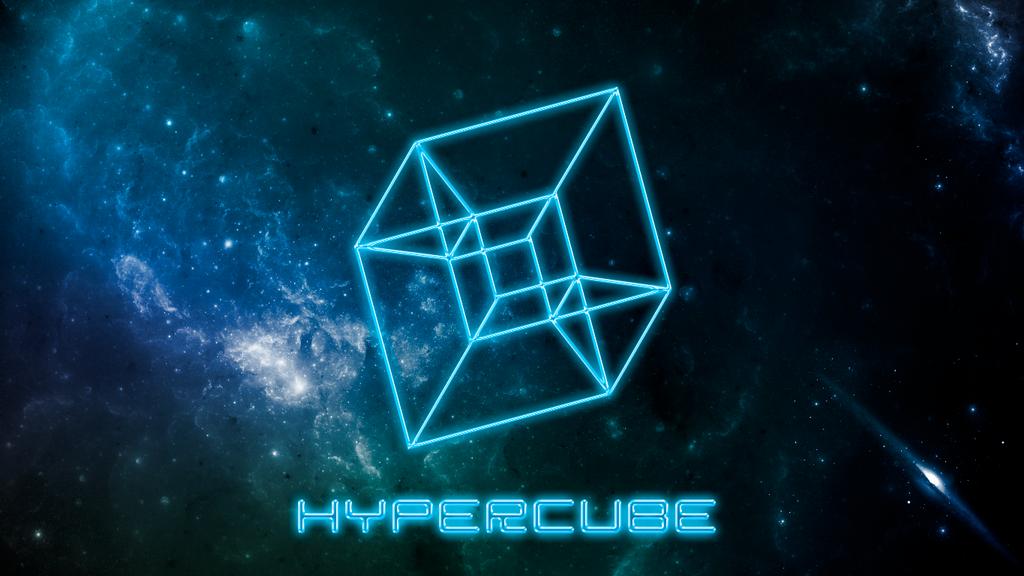 Hypercube Wallpaper by MariMysteria