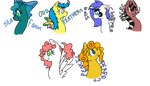 All Of My MLP OCs :'D