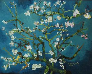 Van Gogh's Almond Tree by graphicmusings