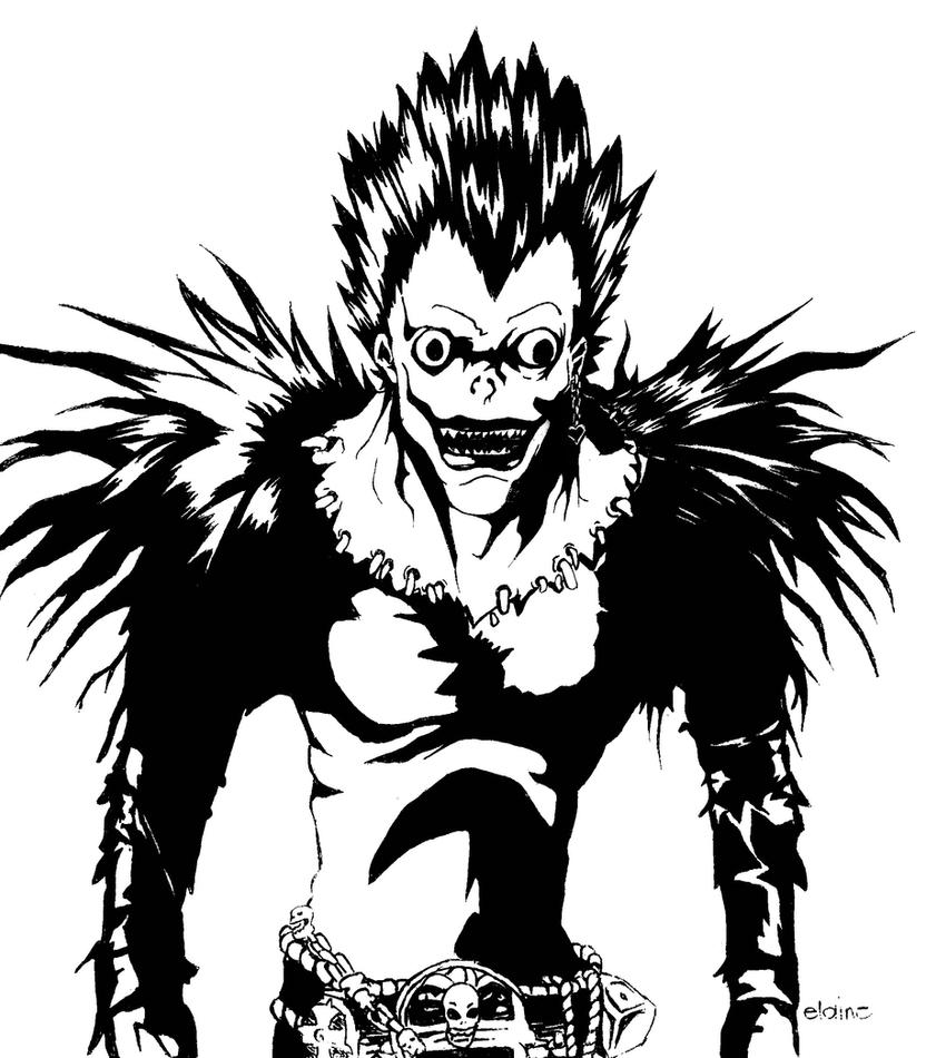 RYUK from Death Note by ElaineMaticHiloma on DeviantArt