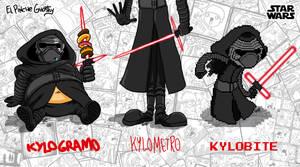 Kylo Ren Forms