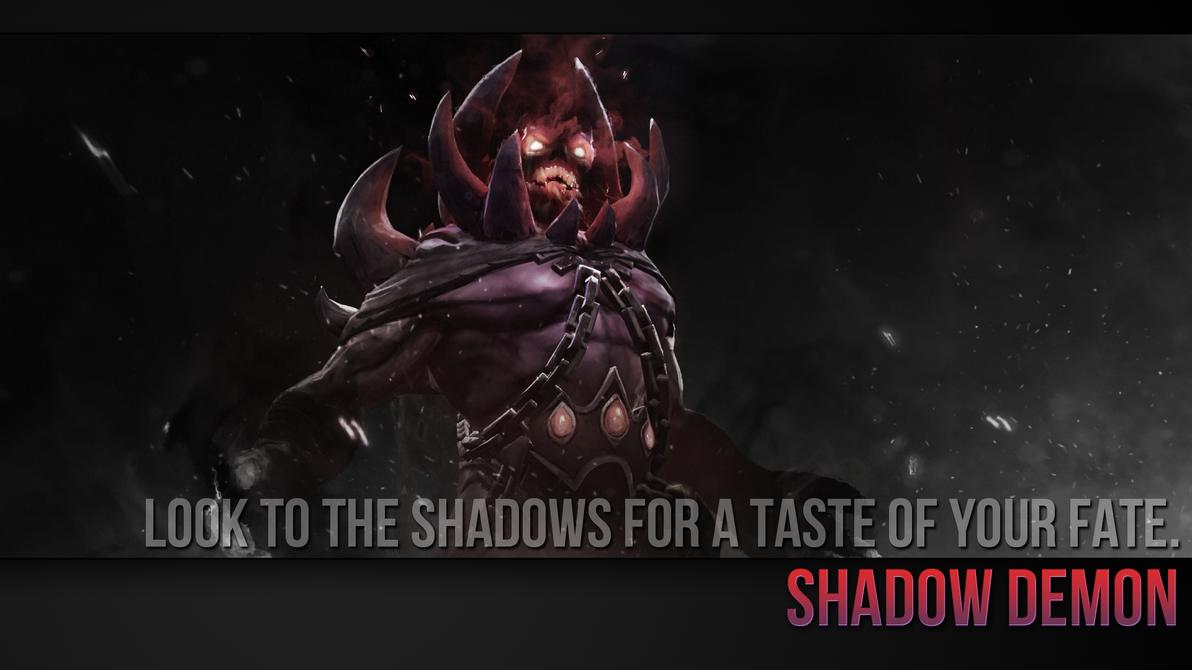 shadow demon wallpaper by imkb on deviantart
