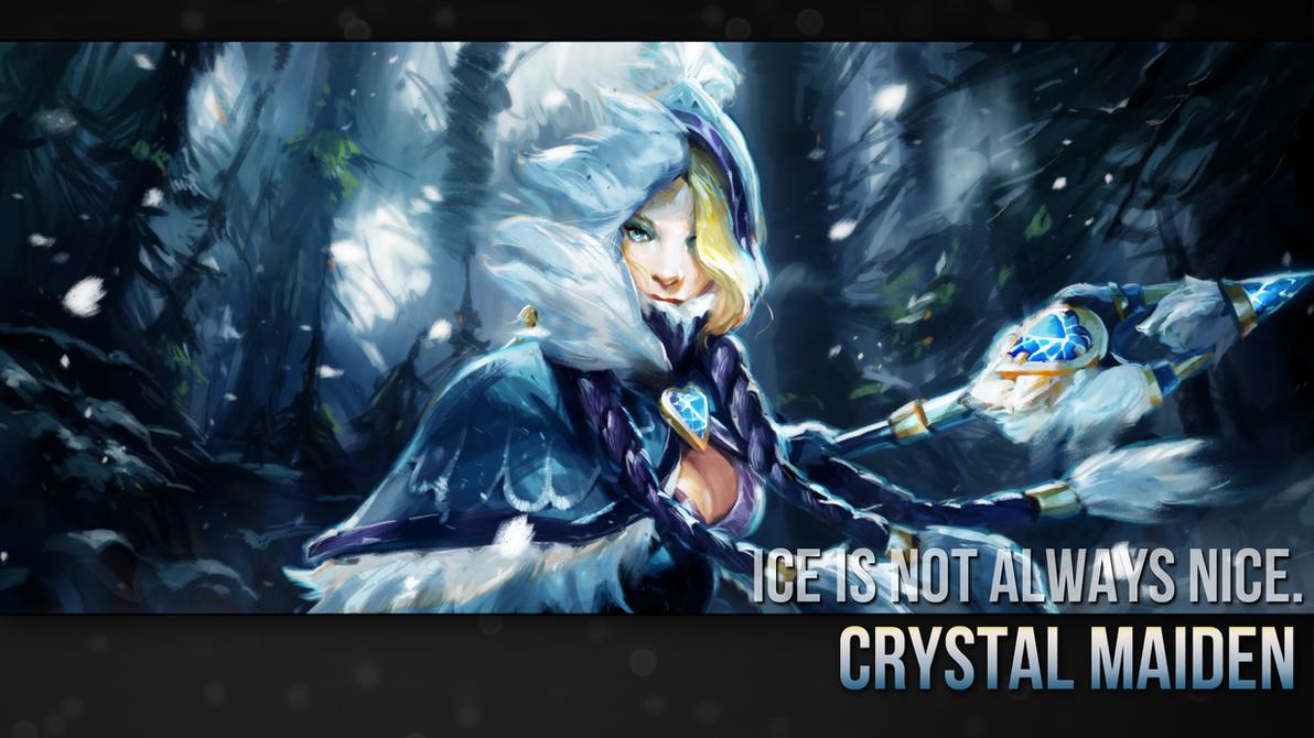 Dota 2 Wallpaper Crystal Maiden Crystal Maiden Wallpap...
