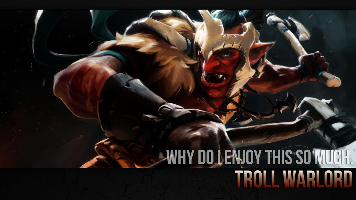 Troll Warlord Wallpaper by ImKB on DeviantArt