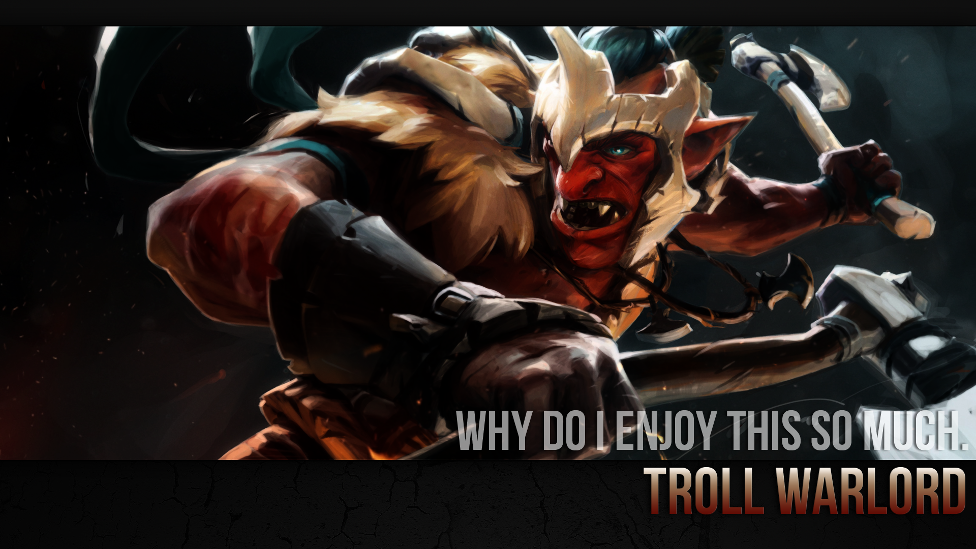 troll warlord build guide dota 2 the hunger for carnage