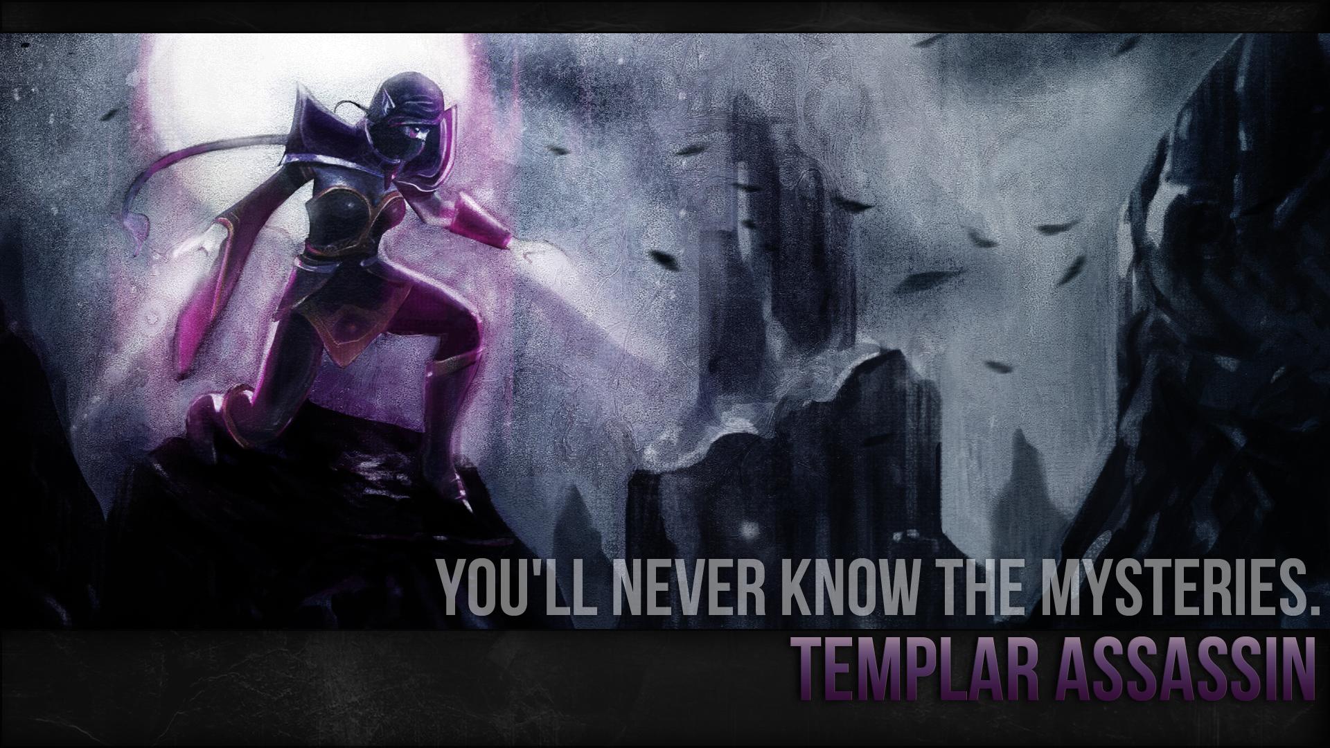 Templar Assassin Wallpaper By Imkb On Deviantart