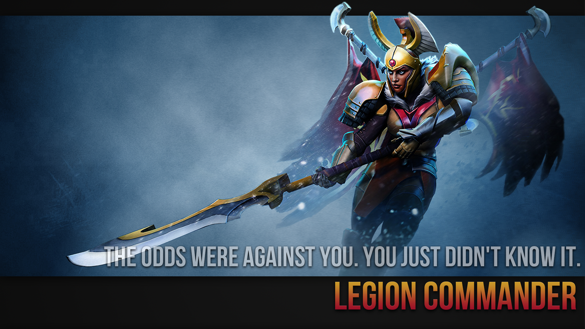 Best Dota 2 Wallpaper Legion Commander Wallpaper By Imkb On Deviantart