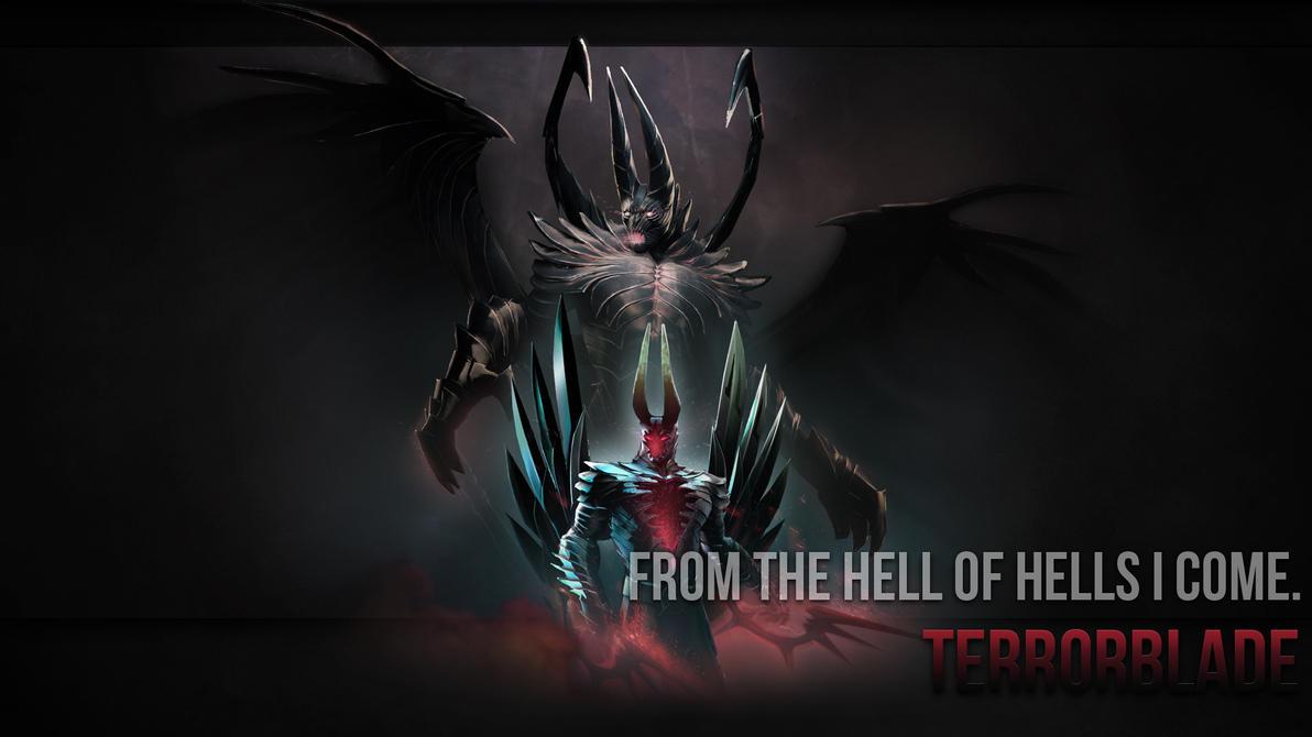 Terrorblade Arcana Wallpaper by ImKB on DeviantArt