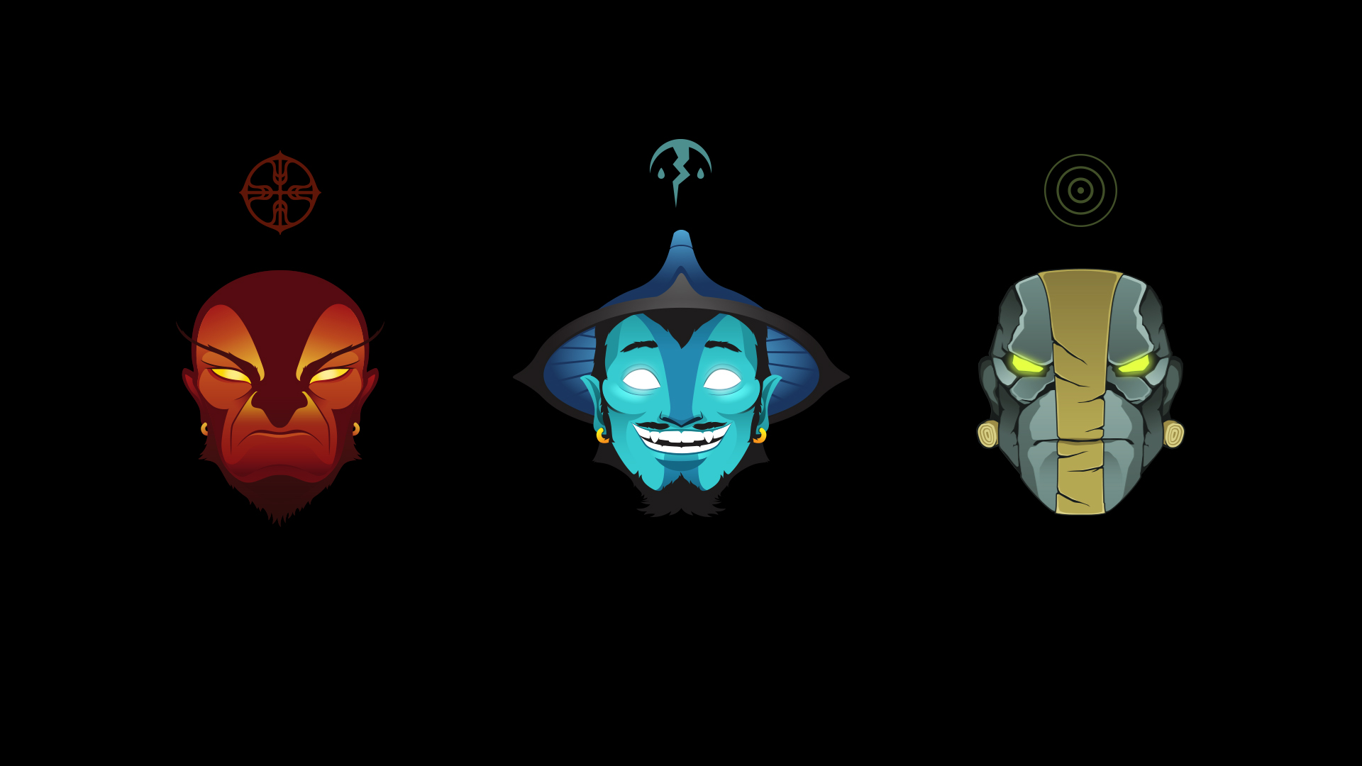 Three Spirits Wallpaper By ImKB