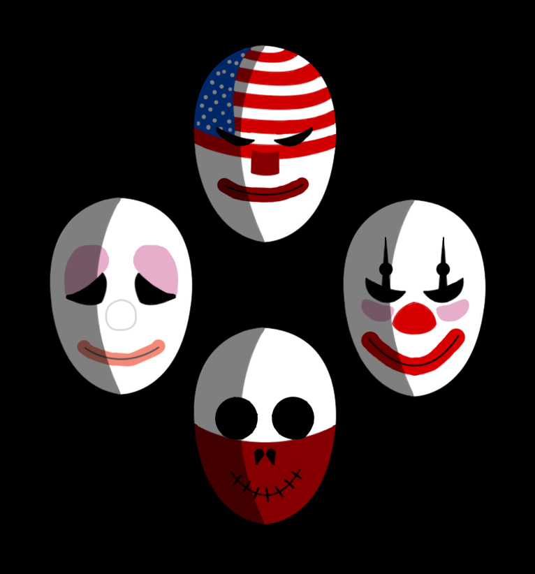Payday 2 New Chains Mask Pack [ENG/GER] - YouTube