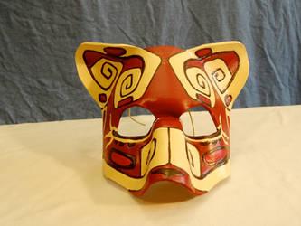 Mayan Ocelot Mask by LadyAkeldama