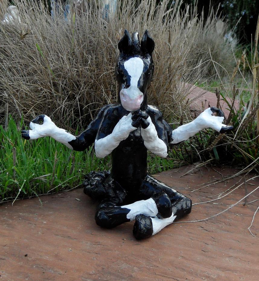 Shadow Horse by LadyAkeldama