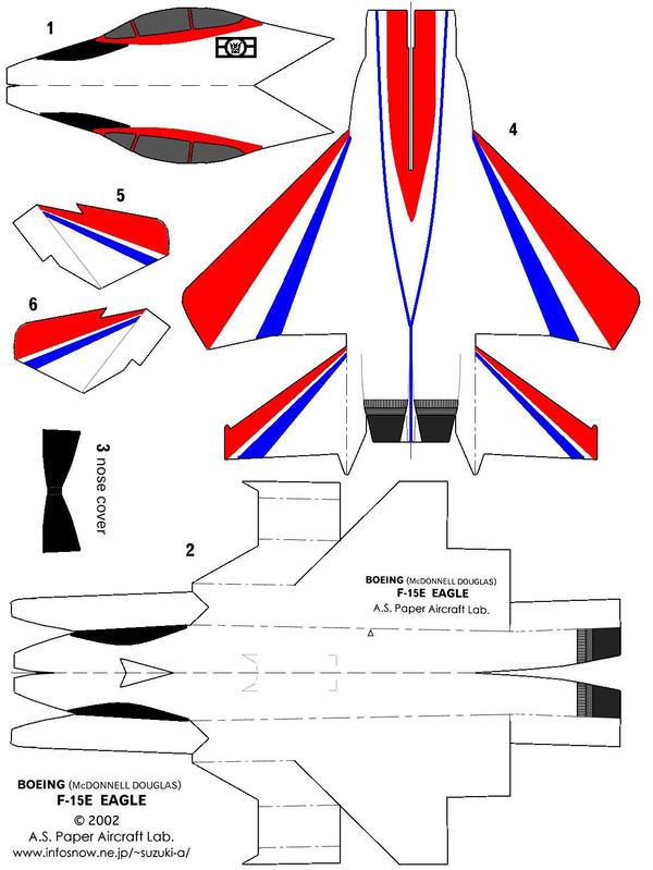 Paper f 15 eagle