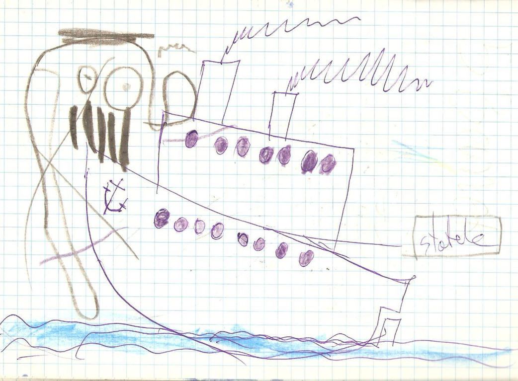 Cthulhu atakuje statek / Cthulhu attacks a ship by szymmirr