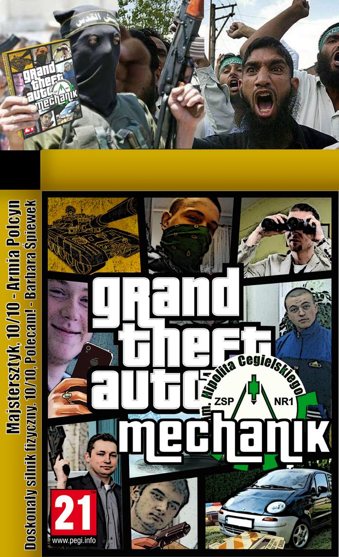 Grand Theft Auto: Mechanik by szymmirr
