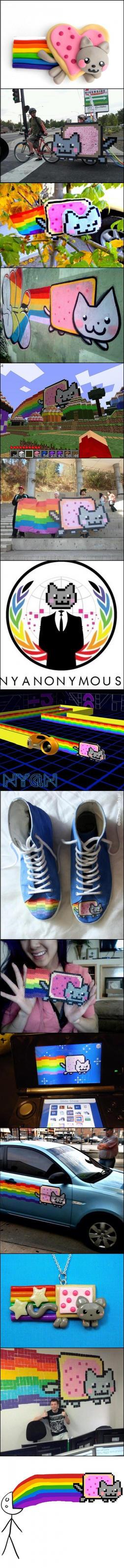 Nyan Cat :D by memelandia