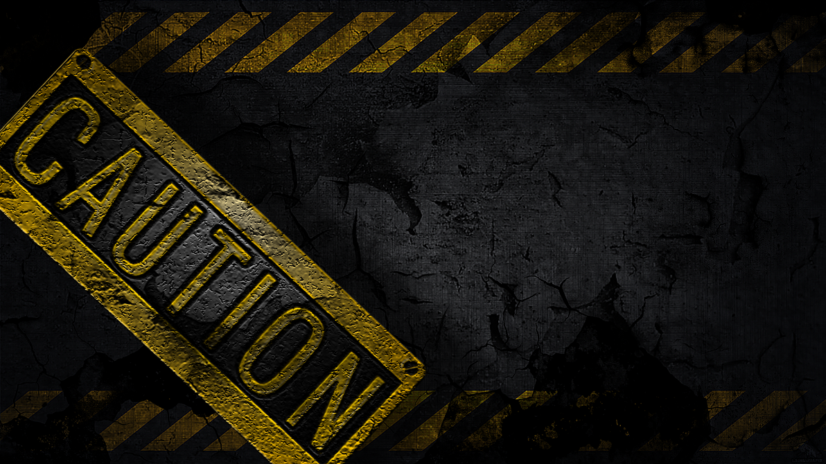 Http Claine89 Deviantart Com Art Caution Wallpaper 320524795