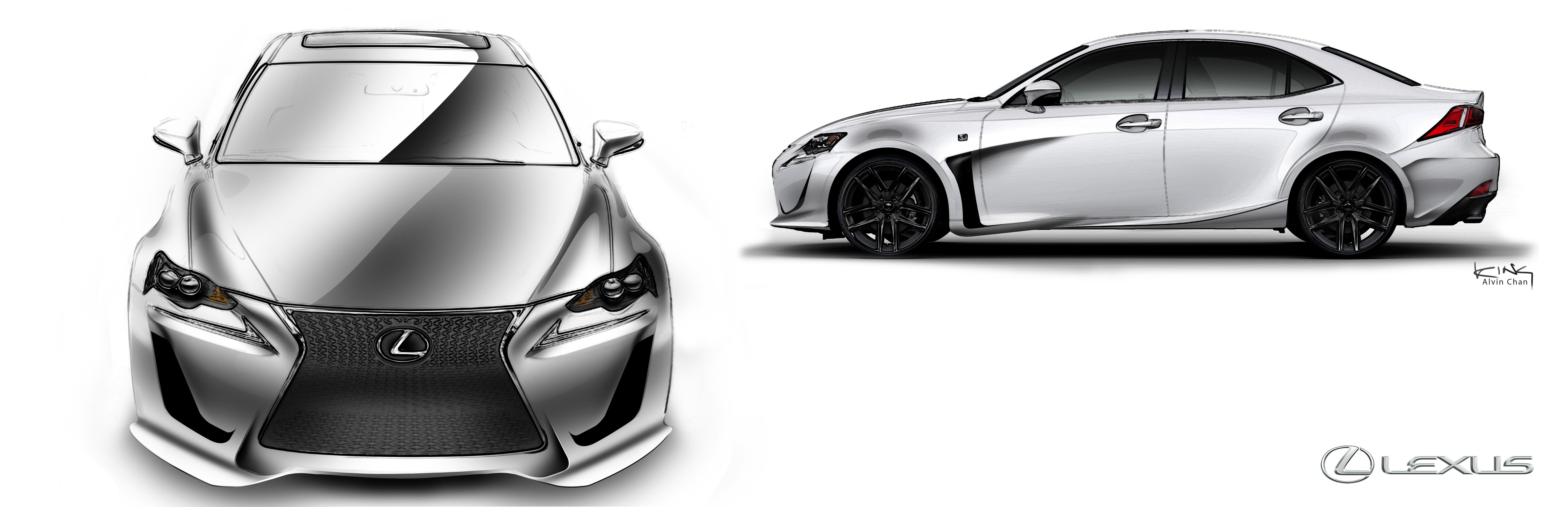 Lexus IS F Sport by alvin99002