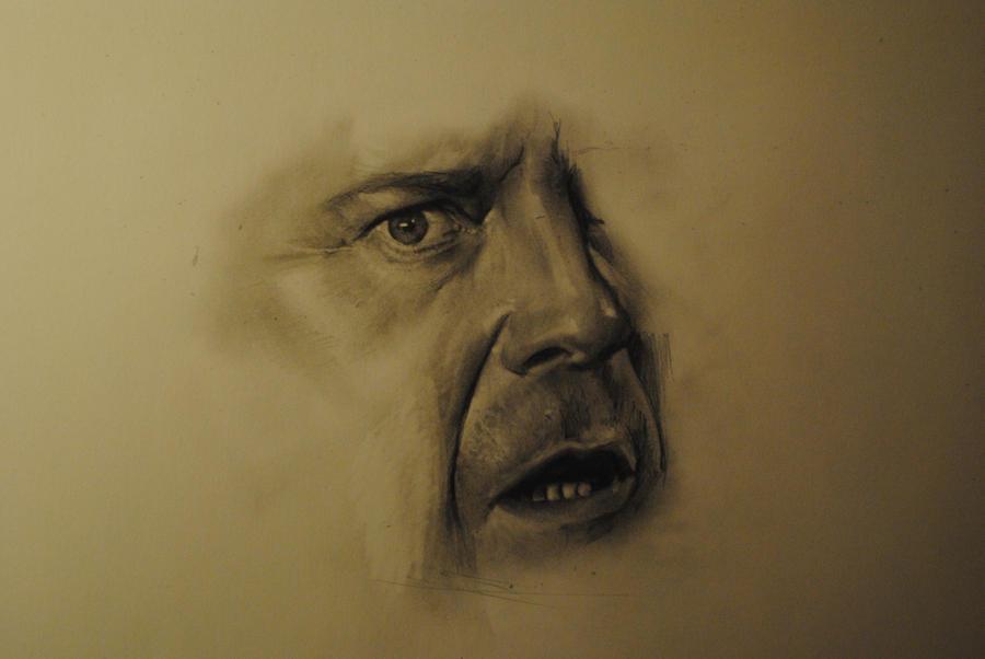 Work in progress - Bruce Willis by Plishman