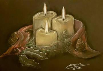 Candle Lit Christmas by Plishman