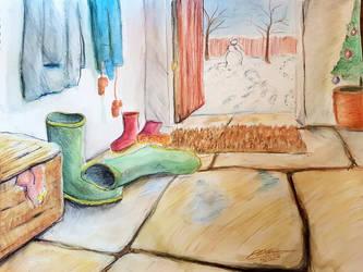 Winter Wellies by Plishman