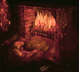 A Winter's Warmth by Plishman