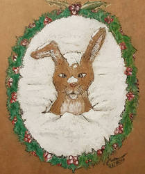 Rabbit in the Snow by Plishman