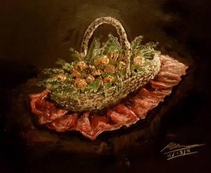 A Christmas Basket by Plishman