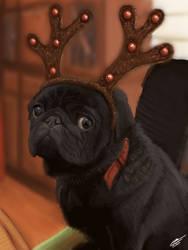 Bertie the Reindeer by Plishman