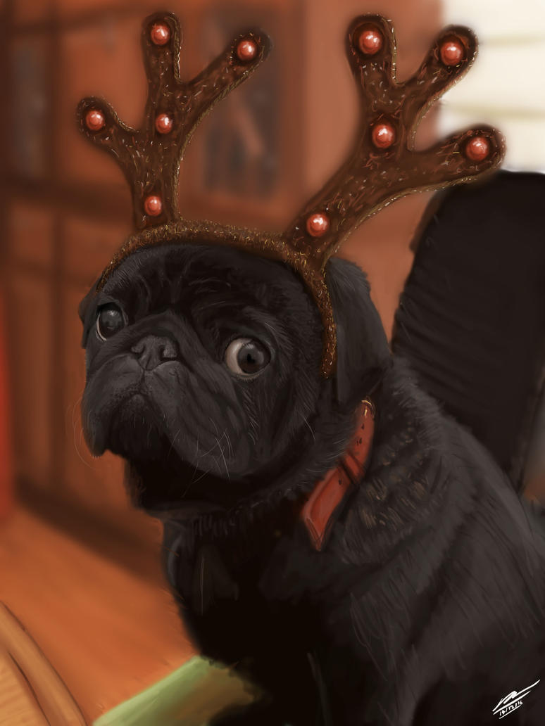 Bertie the Reindeer by Plishman