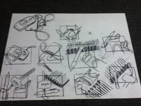 Thumbnail Sketches 1