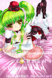 Code Geass: C.C. by ItchyStitch