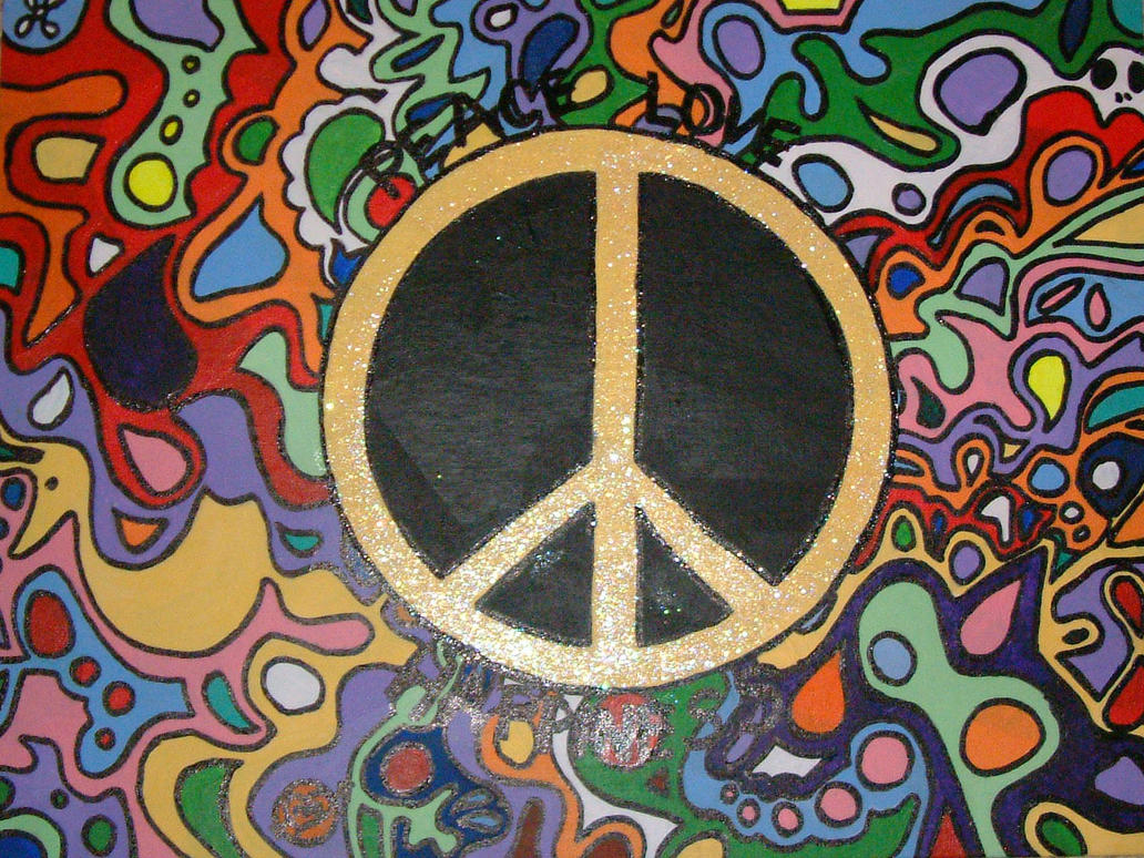 Peace Love And Happiness By C Roll On Deviantart