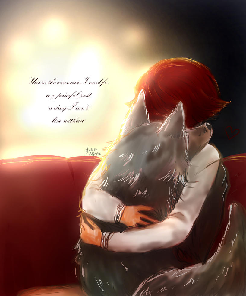 My wolf and I by jubillealfeche