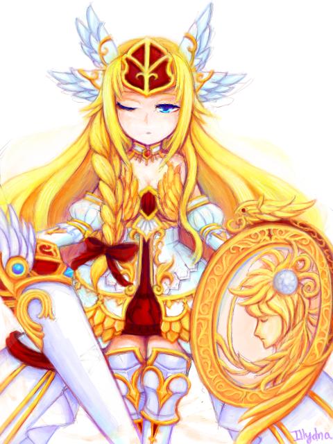 Athena by Hanariku-chan