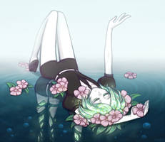 Phosphophyllite by illydna