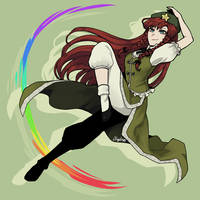 Hong Meiling by illydna