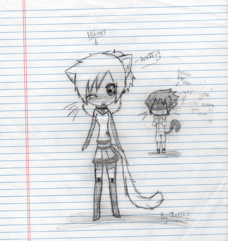 Poor_Hikari by livy1023