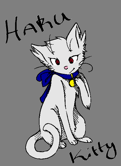 Haku Kitty by livy1023