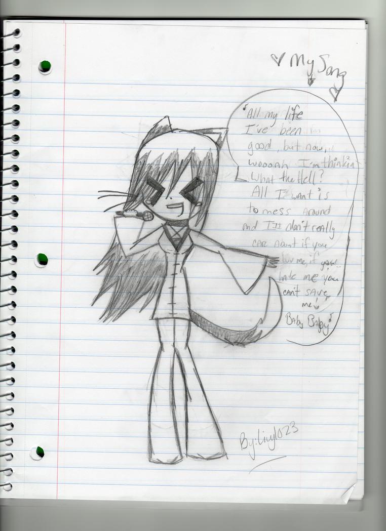 Hikari Singing by livy1023