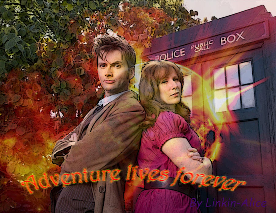 Doctor and Donna 2 by Linkin-Alice