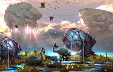 Hot Wet Biome 03 01 by daedraking