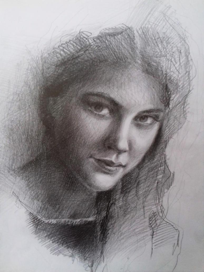 portrait by Belokopytova